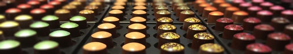 capsule en chocolat