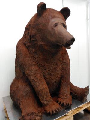 ours en chocolat