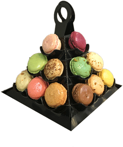 pyramide macaron