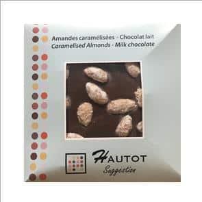 Carré Gourmand – Amandes Caramélisées – Lait